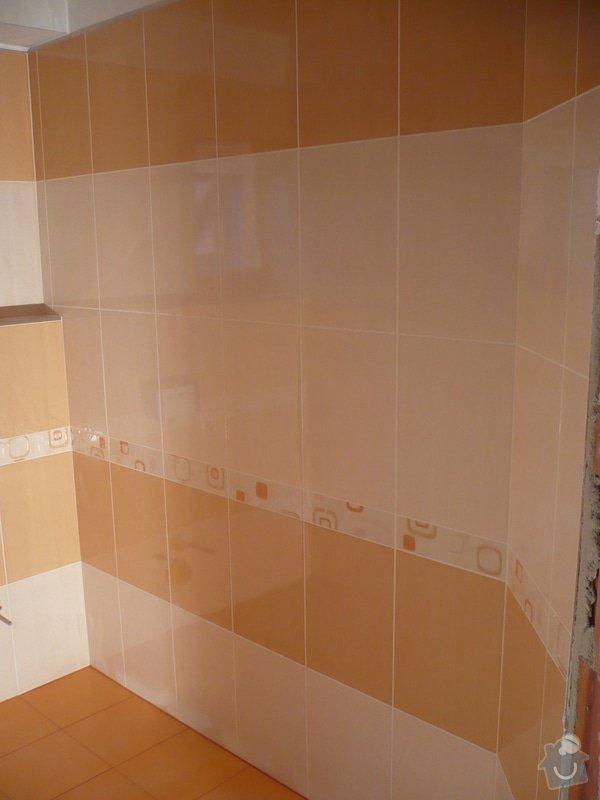 Zhotovení obkladů a dlažby: P1060415