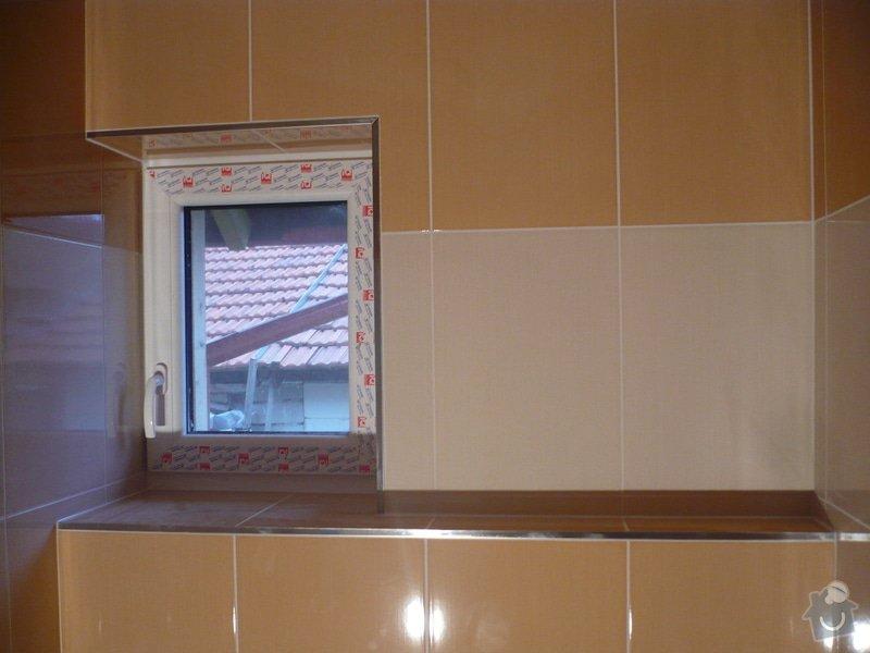 Zhotovení obkladů a dlažby: P1060417