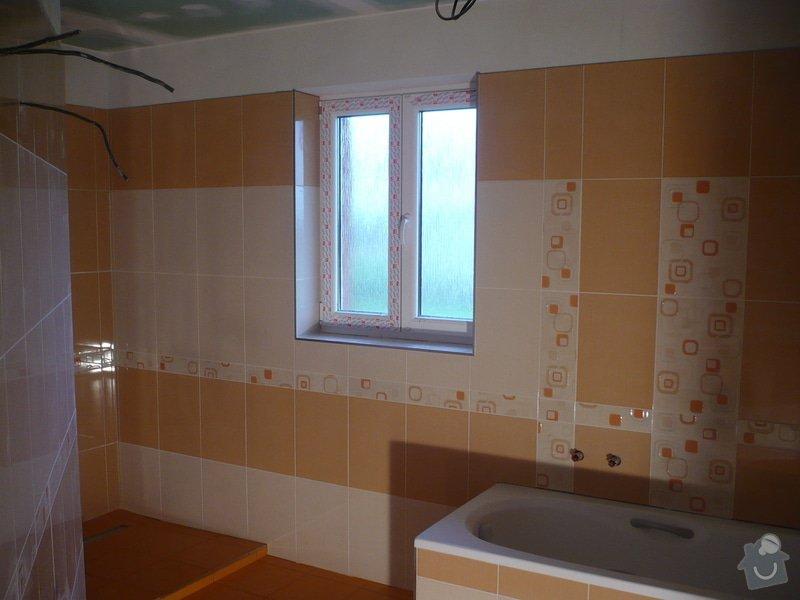 Zhotovení obkladů a dlažby: P1060442