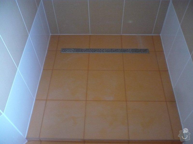 Zhotovení obkladů a dlažby: P1060445