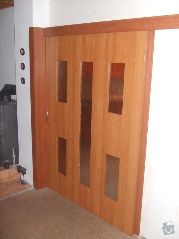 Posuvné dveře + obložka: DSCF2693