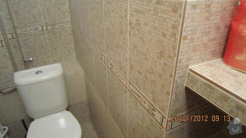 Obklady koupelny, WC a podlahy: IMG_1853