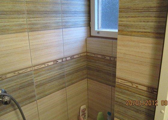 Obklady koupelny, WC a podlahy