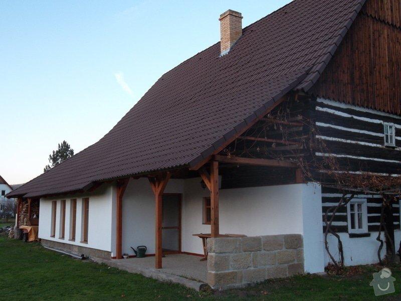 Rekostrukce střechy, oprava krovu, pokládka krytiny, klempířské prvky: SAM_0075