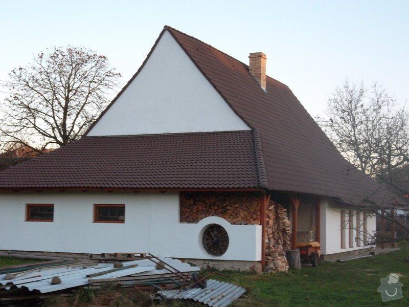 Rekostrukce střechy, oprava krovu, pokládka krytiny, klempířské prvky: SAM_0073