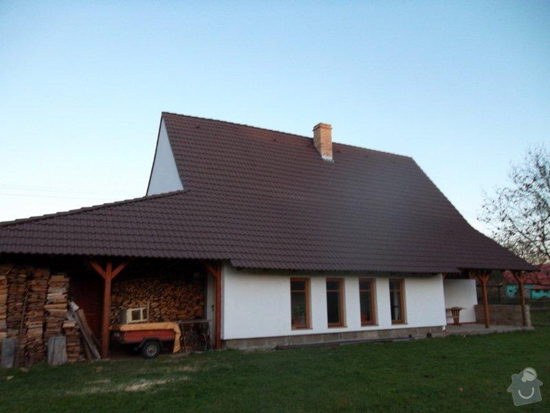 Rekostrukce střechy, oprava krovu, pokládka krytiny, klempířské prvky: SAM_0074