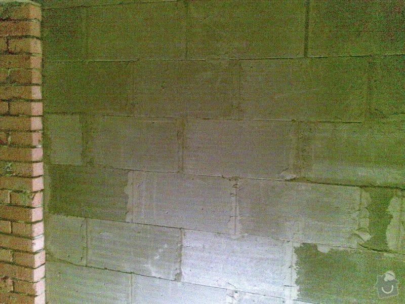 Vyzdění příček Ytongem 10-15 cm, cca 90m2: 004