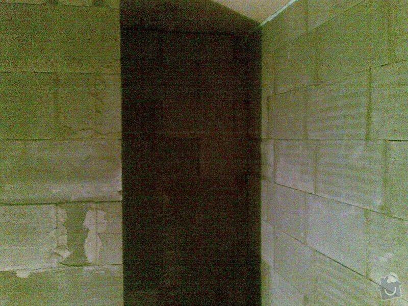 Vyzdění příček Ytongem 10-15 cm, cca 90m2: 005