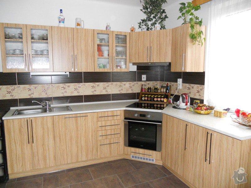 Výroba a montáž kuchynské linky: DSCN0292