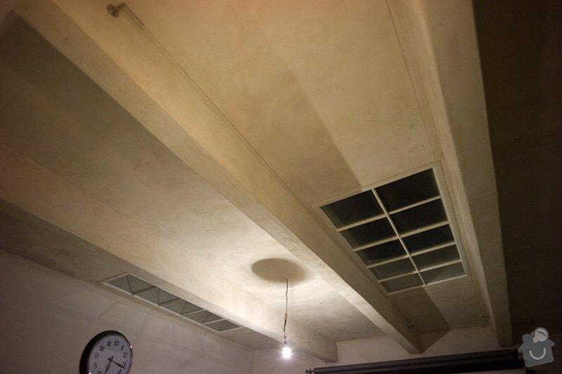 Zatepleni - polystyrenovy podhled + Zazdeni dverniho otvoru sadrokartonem: atas-2