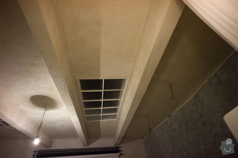 Zatepleni - polystyrenovy podhled + Zazdeni dverniho otvoru sadrokartonem: atas-3
