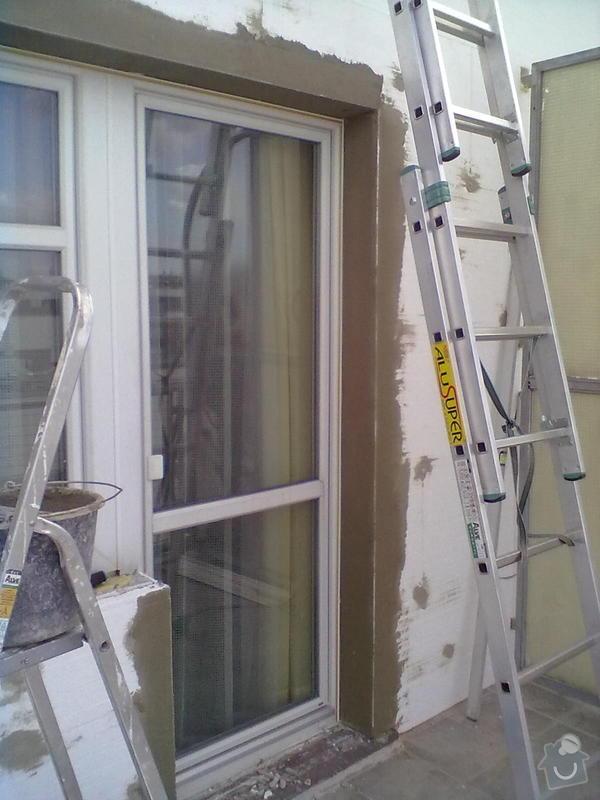 Zeteplení části domu + Instalace okenních parapetů a nátěr omítky: 15092011164