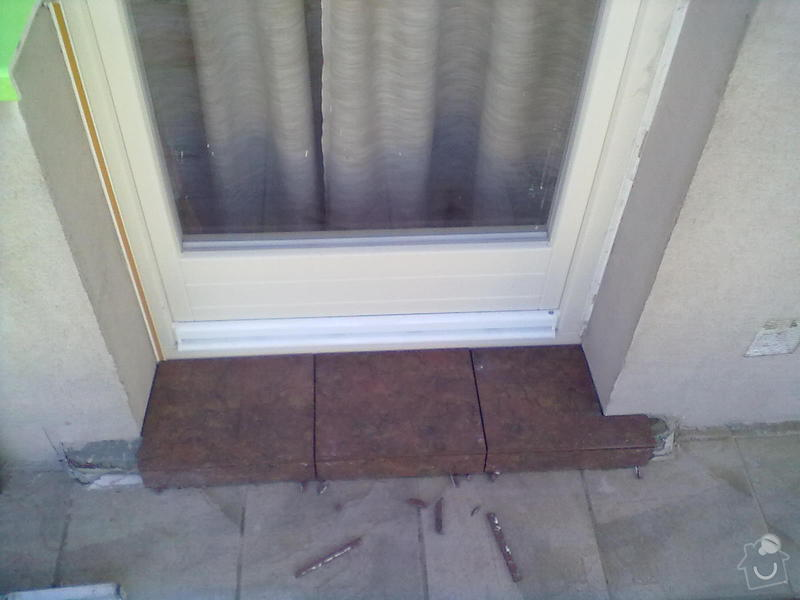 Zeteplení části domu + Instalace okenních parapetů a nátěr omítky: 03102011179