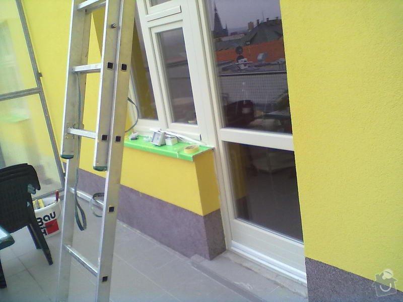 Zeteplení části domu + Instalace okenních parapetů a nátěr omítky: 24102011192