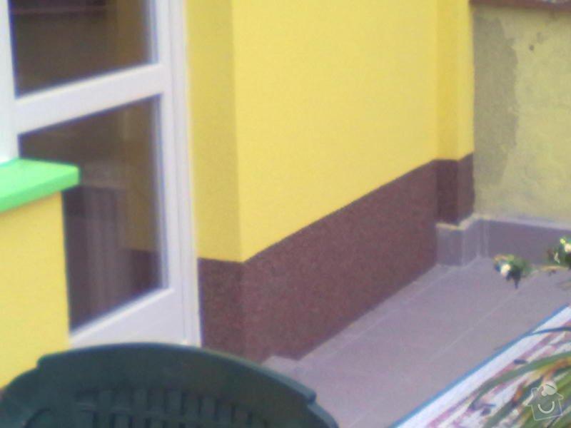 Zeteplení části domu + Instalace okenních parapetů a nátěr omítky: 26102011196