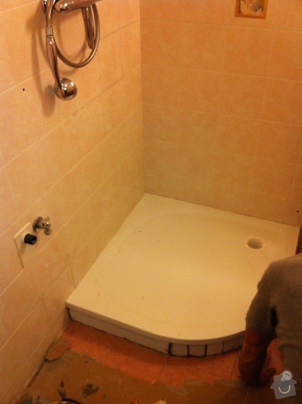 Výměna prasklé vaničky sprchového koutu: ziMG_1404