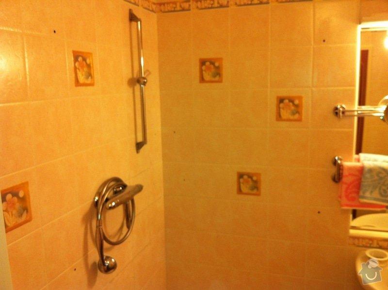Výměna prasklé vaničky sprchového koutu: zIMG_1406