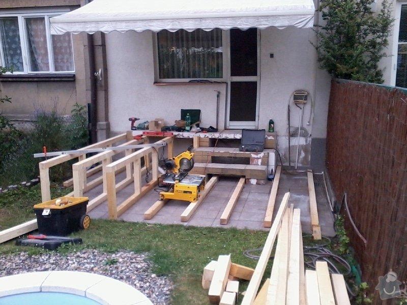 Pokládka terasy z exotického dřeva,: Fotografie0039