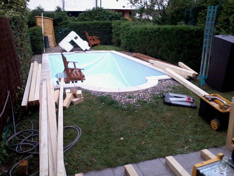 Pokládka terasy z exotického dřeva,: Fotografie0040