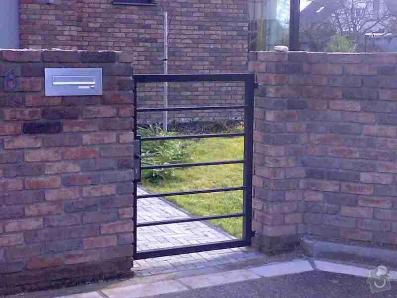 Nesená brána , branka , plotový dílec: Foto1226