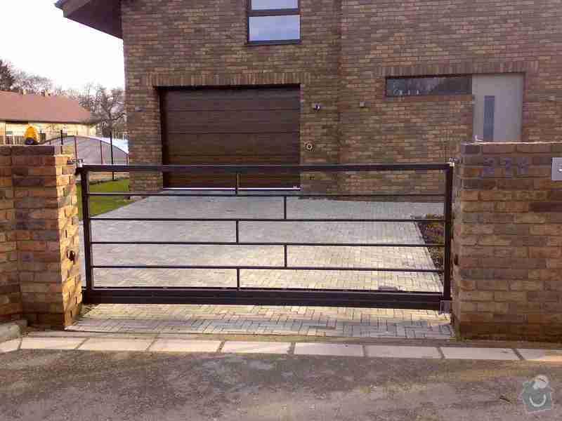 Nesená brána , branka , plotový dílec: Foto1227
