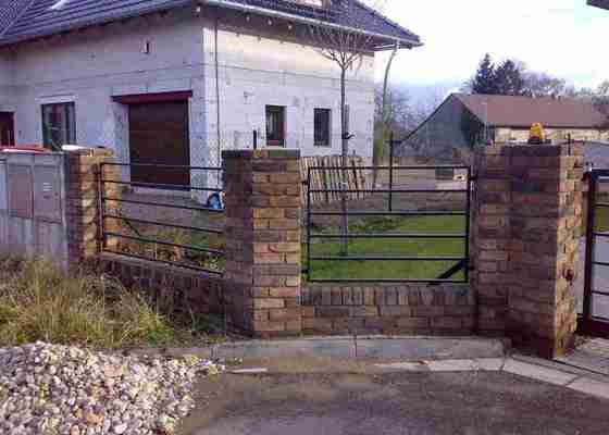 Nesená brána , branka , plotový dílec