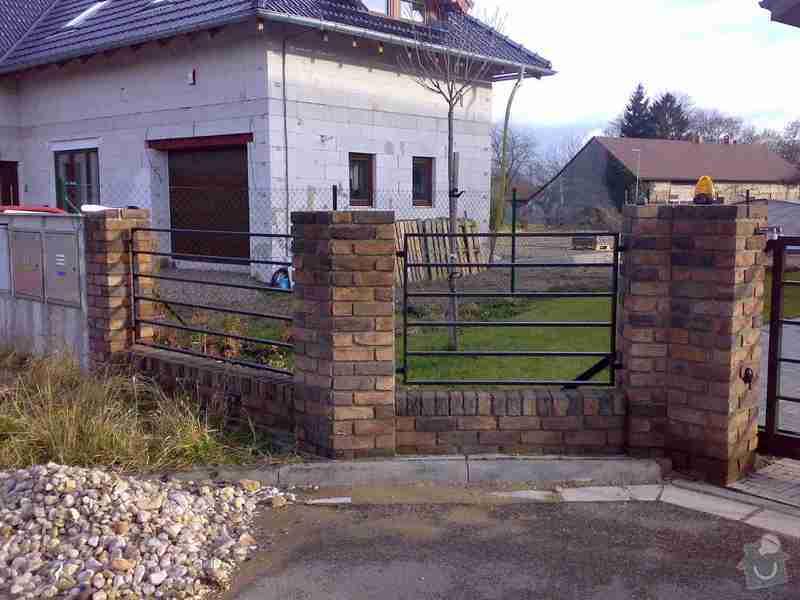 Nesená brána , branka , plotový dílec: Foto1228