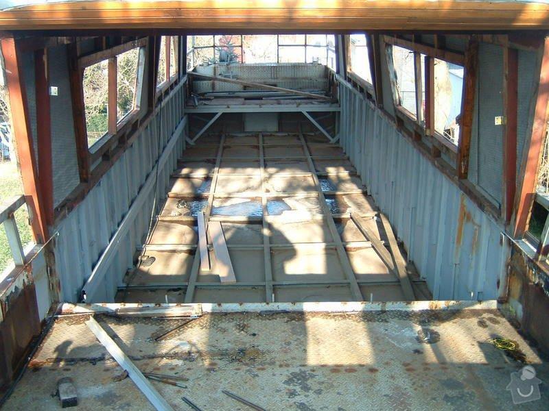 Truhlářské práce : Lod_rekonstrukce_002