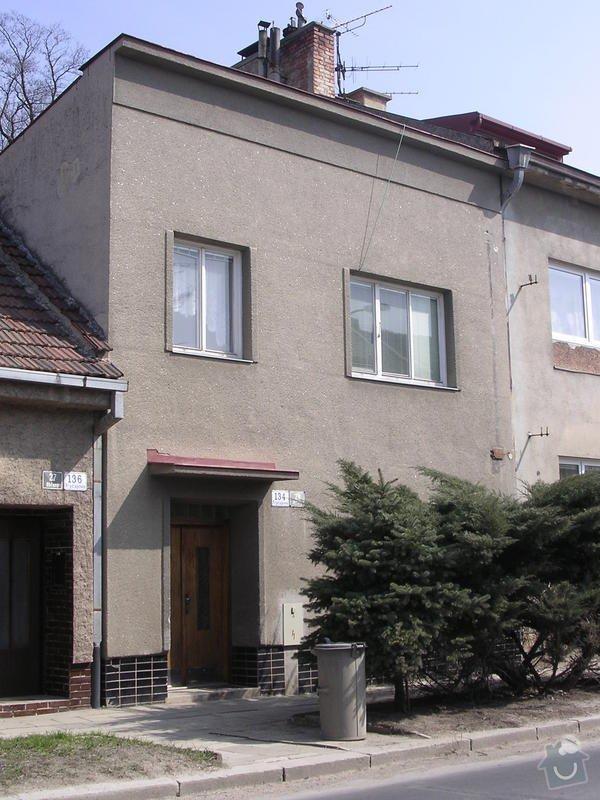 Zateplení fasády RD domu v Brně.: 043-1D-z_ulice