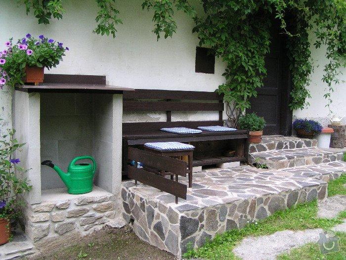 Položení dlažby z kamene a obložení zdí.: P6265342_1_