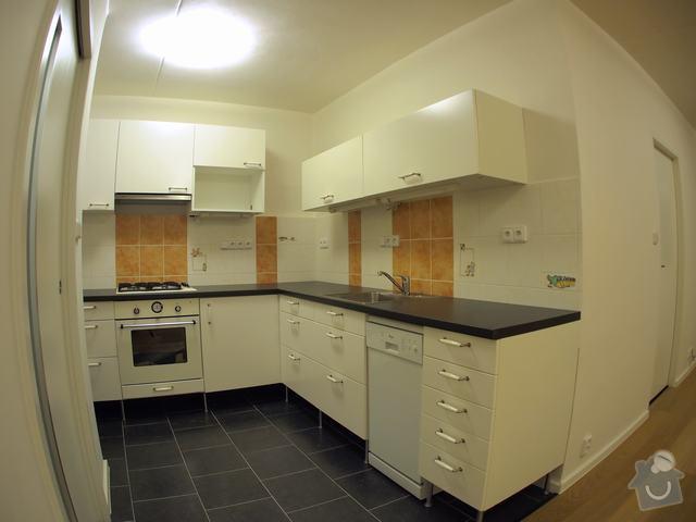 Rekonstrukce bytu: kuchyne