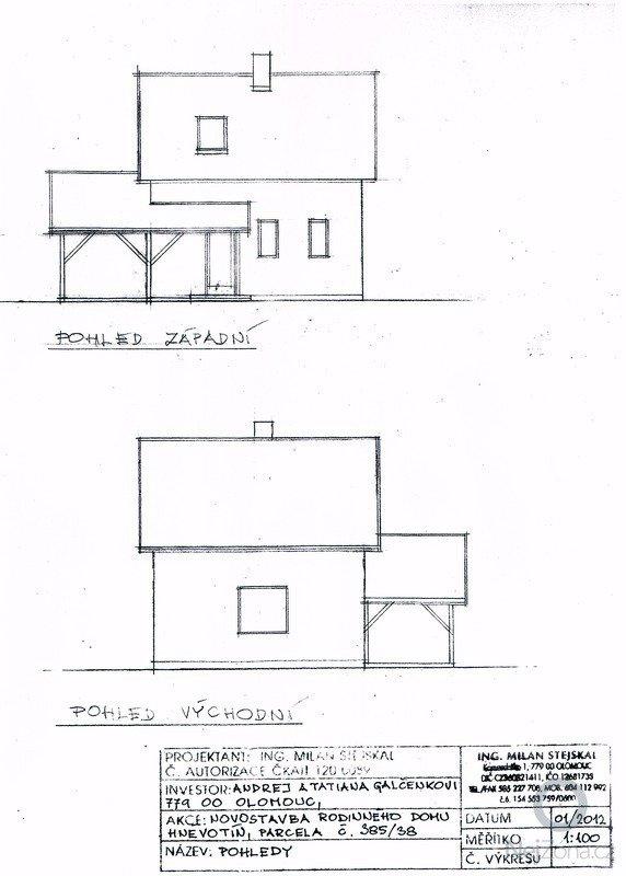 Stavba (dřevostavba) malého domku a zakladova deska: SCAN0106