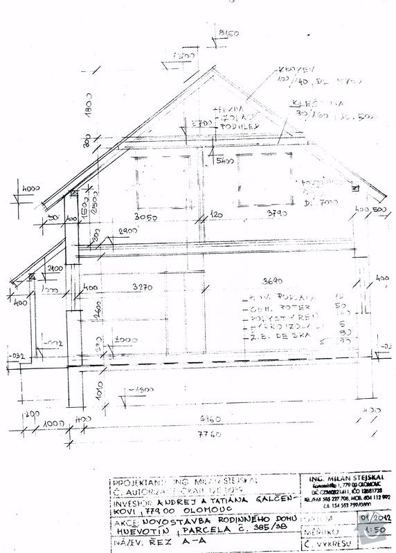 Stavba (dřevostavba) malého domku a zakladova deska: SCAN0108