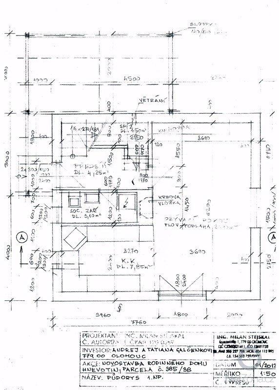 Stavba (dřevostavba) malého domku a zakladova deska: SCAN0109