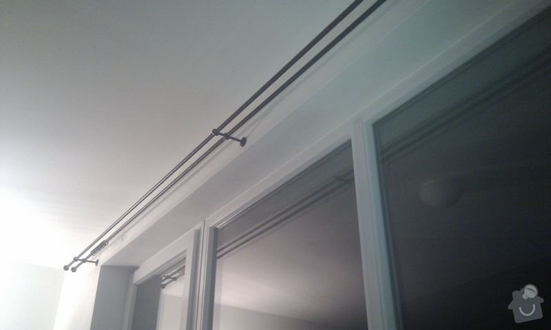 Instalace osvětlení, montáž okenních tyčí, montáž drobných věcí v koupelně: IMG_20120129_190156