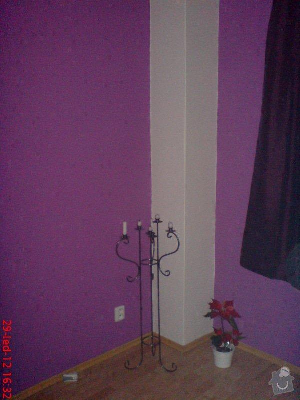 Vymalování obývacího pokoje a kuchyně včetně opravy stropů: DSC01717