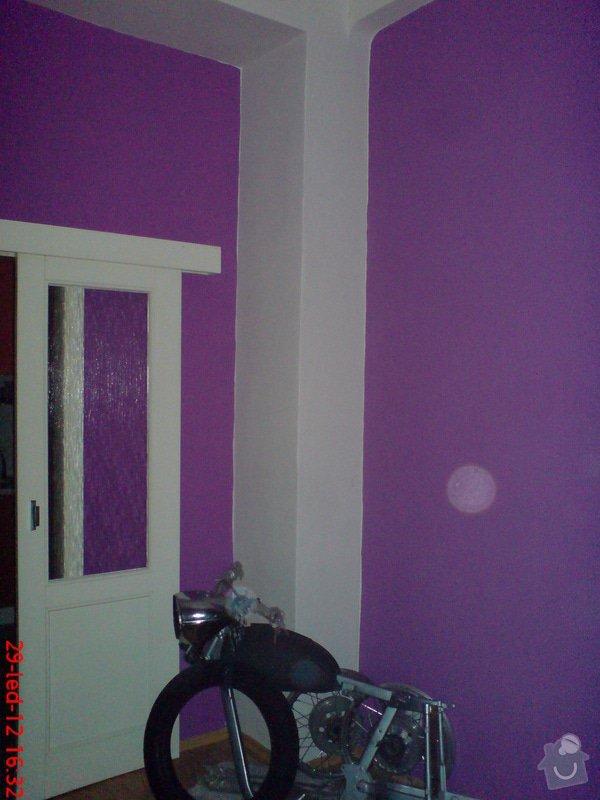 Vymalování obývacího pokoje a kuchyně včetně opravy stropů: DSC01718