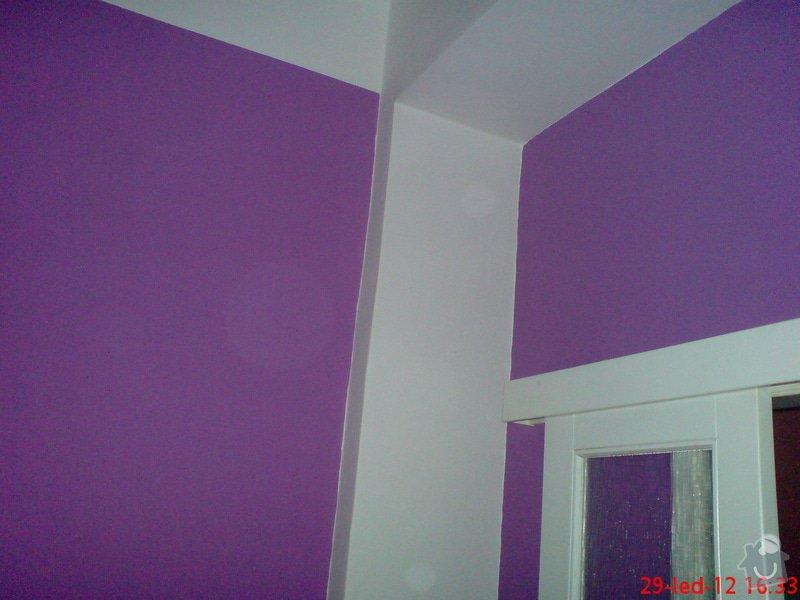 Vymalování obývacího pokoje a kuchyně včetně opravy stropů: DSC01719