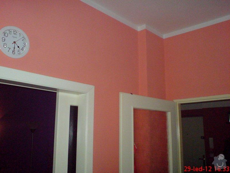 Vymalování obývacího pokoje a kuchyně včetně opravy stropů: DSC01720