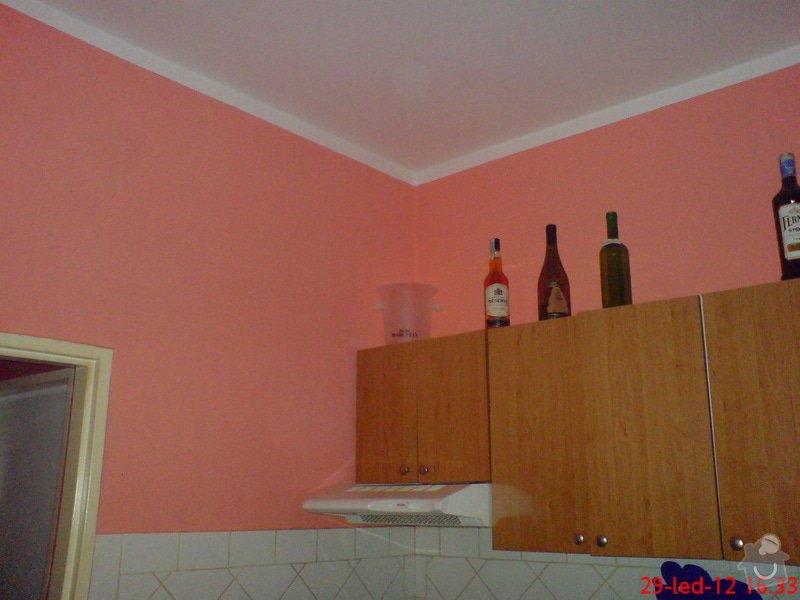 Vymalování obývacího pokoje a kuchyně včetně opravy stropů: DSC01721