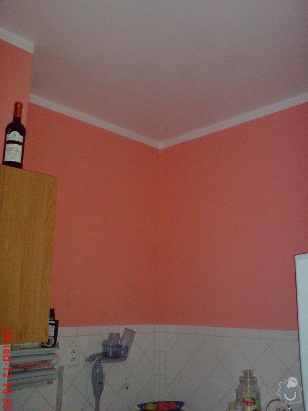 Vymalování obývacího pokoje a kuchyně včetně opravy stropů: DSC01722