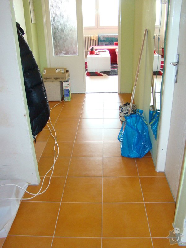 Podlaha, dlažba: dlazba