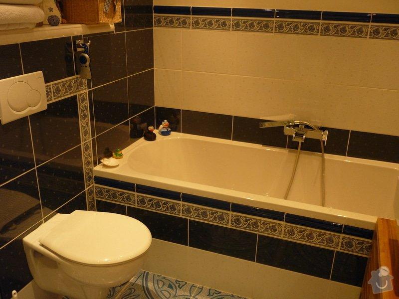 Výstavba nové koupelny v rodinném domě: P1010656