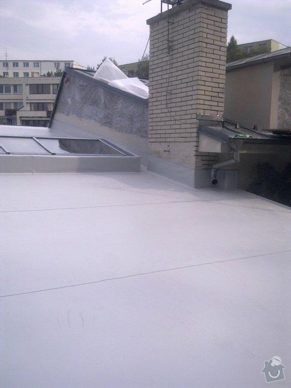 Izolace střechy Ing.arch. Josef Sátora, CSc.: Obraz0292
