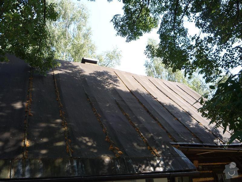 Zhotovení střechy: P1010399
