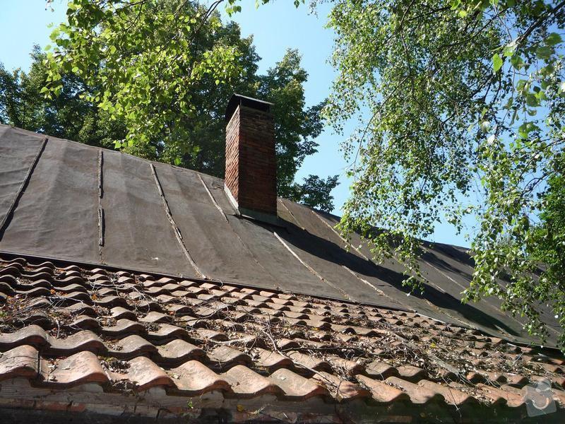 Zhotovení střechy: P1010377