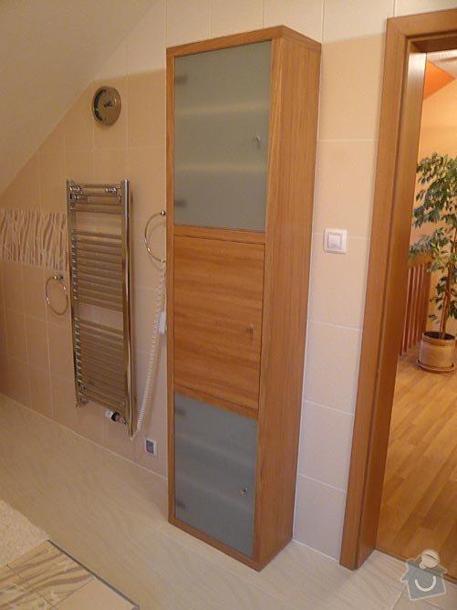 Postel a koupelnový nábytek: 2
