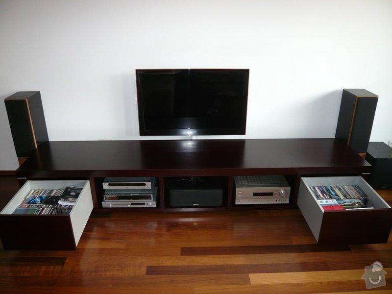 TV stolek, lavička předsíň: 25