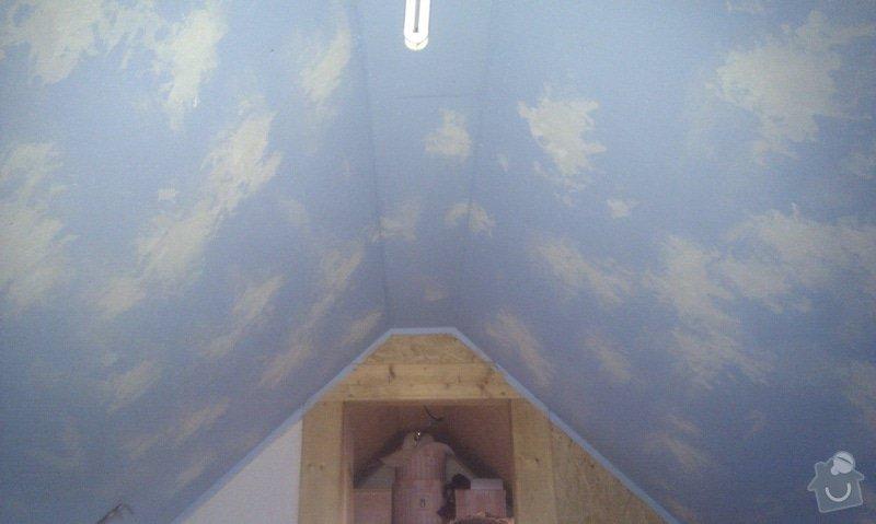 Hvězdný strop v půdním prostoru: IMAG1897