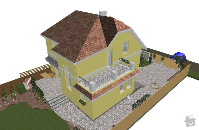 Realizace střechy RD: new_roof